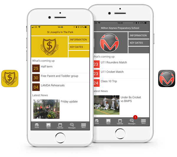 branded apps for independent schools
