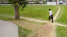 How do you reach the parents? You meet them on the desire path, that's where