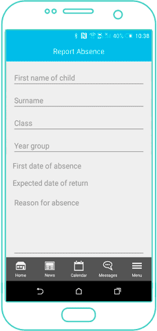 Android Screen - Absence